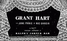 All sizes | Grant Hart By Miss Amy Jo | Flickr - Photo Sharing! #design #graphic #poster