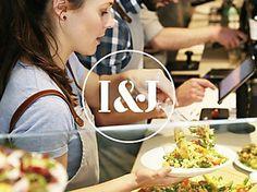 Iris & June identity #stencil #logo #typography