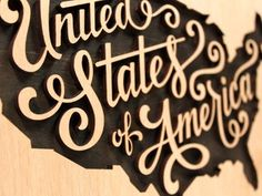USA Closeup by Jude Landry #design #quality #typography