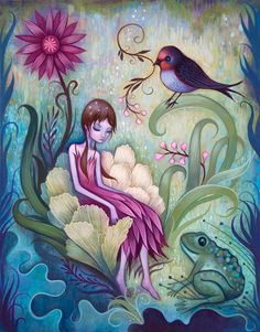 Whimsical Paintings by Jeremiah Ketner