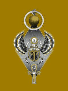 Nomad Secret societies - Scarab illustration