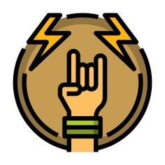 See more icon inspiration related to rock, concert, thunder, music and multimedia, hands and gestures, festival, rock and roll, heavy metal, hand gesture, heavy, gestures and hands on Flaticon.