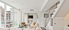 chelsea duplex interior redesign and renovation #interior #design #erika #nyc #flugger