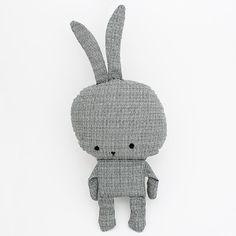 toy #bunny #toy #grey