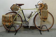 cork grips #bike