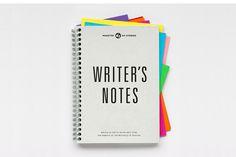 Writer's Notes - Burgess Studio #bound #print #spiral #book #notes