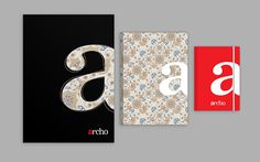 archo design studio on Behance #branding #texture #letter #studio #vintage #typo #lettering #red #business #design #architecture #identity #logo #italy #a #architect #house #mockup #typography #interior #card #home #corporate