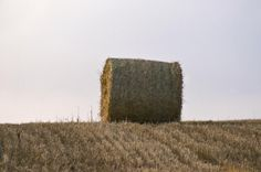 Haybale-horizon.png 660×439 pixels #photography #dusk #farm #scotland #countryside #chris hannah #hay bale