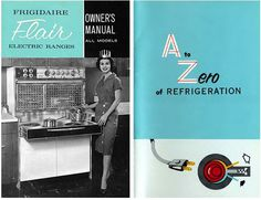 Appliance frigidaire retro ad #fridge #retro #ad