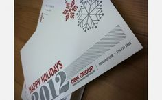 Ruba Marie | Graphic Design #card #calendar #letterpress #holiday #greeting