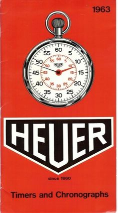 OnTheDash - The definitive guide to Heuer #orange #60s #watch