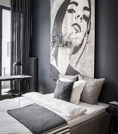 Edgy luxury apartment equipped with statement furniture pieces and signature interior design - HomeWorldDesign (9) #interior #apartments #design #retro #vintage #berlin #luxury