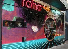 Roho, hair boutique facade, POGO | art & design boutique #pogo #roho #facede