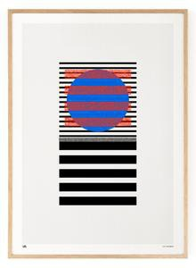 Outlined.cc Limited Edition Artwork Segments No.2 art geomtric print design artprint wallart