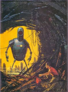 Cover for Amazing Science Fiction Stories... Muddy Colors: Ed Valigursky