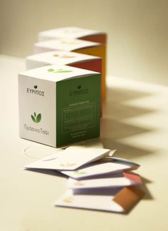 Euripos Tea Packaging