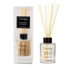 Mini Fragrant Reed Diffuser Fresh Cotton & Lavender, 65ml