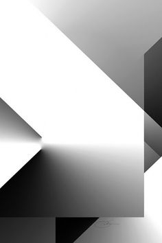 Black and White 9 #art #minimal #architecture #geometric #white #photoshop #black and white #black #digital #keaton #digit