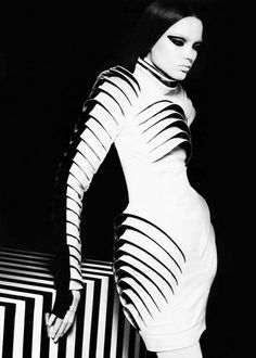 Gareth Pugh #fashion #photography #b&w