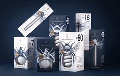 Fireflies Inspired This Clever Packaging for CS Light Bulbs