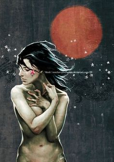 Blush by ~MischievousMartian on deviantART #illustration #girl