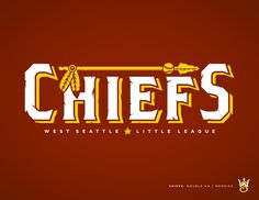 West Seattle Little League - danlustig.com #chiefs #vector #seattle #sports #baseball #logo #typography
