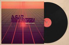 Colorcubic: logo & album artwork for A Gap Between on the Behance Network #album #colorcubic #design #nueva #de #forma #art #music