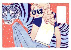 Kirsten Rothbart #illustration #character