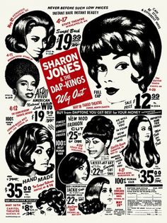 GigPosters.com - Sharon Jones & The Dap-kings
