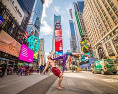 Yoga And The City by Alexey Wind