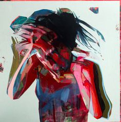 Simon Birch   PICDIT #abstract #design #painting #art #colour
