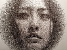 Wire Mesh Portraits by Seung Mo Park | 123 Inspiration #layers #seung #mesh #park #korean #wire #artist #portraits #mo #sculptor