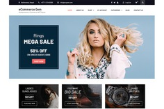 4 free eCommerce WP themes for startups by Maria Johnsonrose