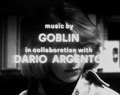 Dario Argento, Goblin #title #horror #dario #sequence #goblin #argento #italy #credits