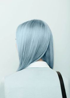 Agnes Lloyd-Platt: Ally Capellino SS15 Lookbook #hair #blue #girl
