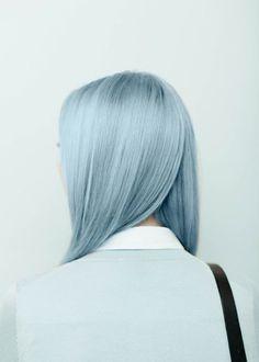 Agnes Lloyd-Platt: Ally Capellino SS15 Lookbook #hair #blue #girl