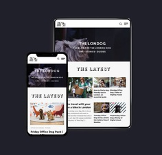 The Londog mobile experience by Made by Gelpi