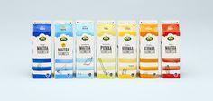 Maitoa Suomesta by 358 #packaging
