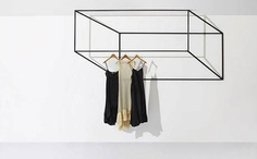 Black Wings: 3-D Clothing Rack - IPPINKA Created by Canadian design studio, +tongtong, Black Wings is a 3D coat rack made of welded steel. The racks present a fun, minimalist design that fits into any environment. The collection is called Les Ailes Noires, which is French for Black Wings.