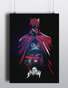 Batman - Artwork by Marco Grünewälder #dc #super #batman #artwork #hero #illustration #comics