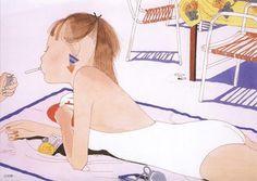 Artist illustrator Seiichi Hayashi #watercolour