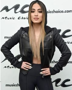 FilmStarLook Providing You Amazing Ally Brooke Leather Jacket For Women In Affordable Price At Our Online Store FilmStarLook.com. So Visit Our Store Today And Get Your Favorite Product Now. #LeatherJacket #AllyBrooke #FilmStarLook http://bit.ly/2kkSxQe