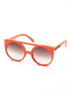 The Village Oversized Round Frame by Karen Walker Sunglasses up to 60% off at Gilt #fashion #glasses
