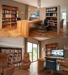 Wood & Mac Home workspace