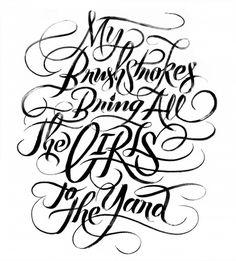 My Brushstrokes Bring All the Girls to the Yard | Erik Marinovich