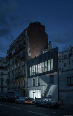 Small Parisian house