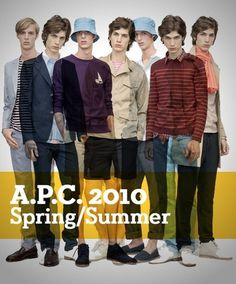 http://gestaltic.tumblr.com/post/626484502/a-p-c-2010-spring-summer-collection #fashion