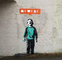 Nobody Likes Me - I♥ #art #streetart