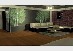 Interior 3D | Francis Maracha #zen #house #3d