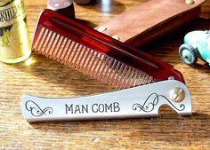 The Man Comb #tech #flow #gadget #gift #ideas #cool